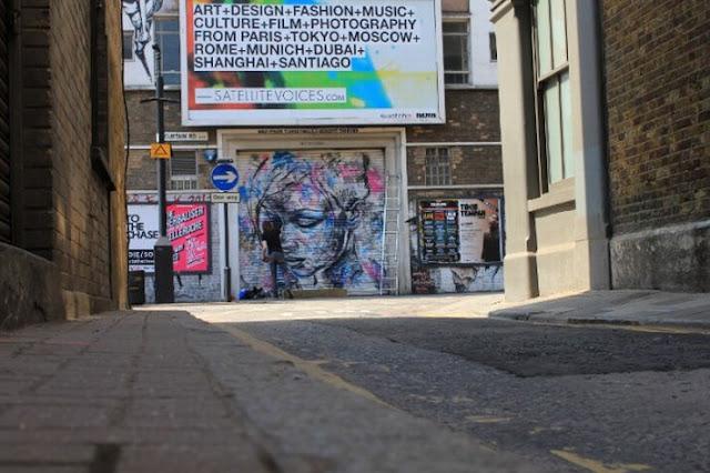 Уличный художник Дэвид Уокер (David Walker) 23