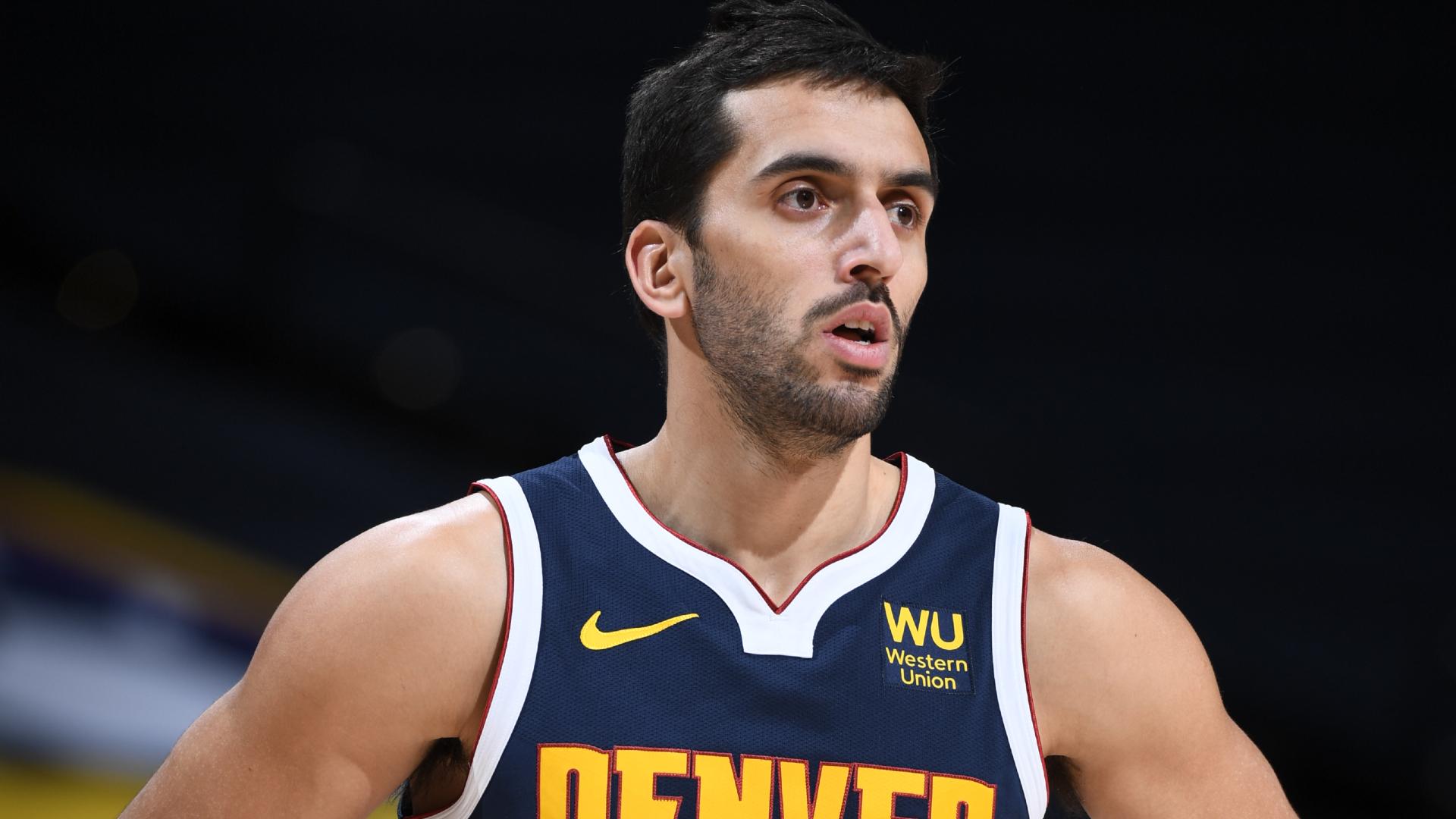Campazzo aprovecha sus minutos en el triunfo de los Denver Nuggets por la NBA