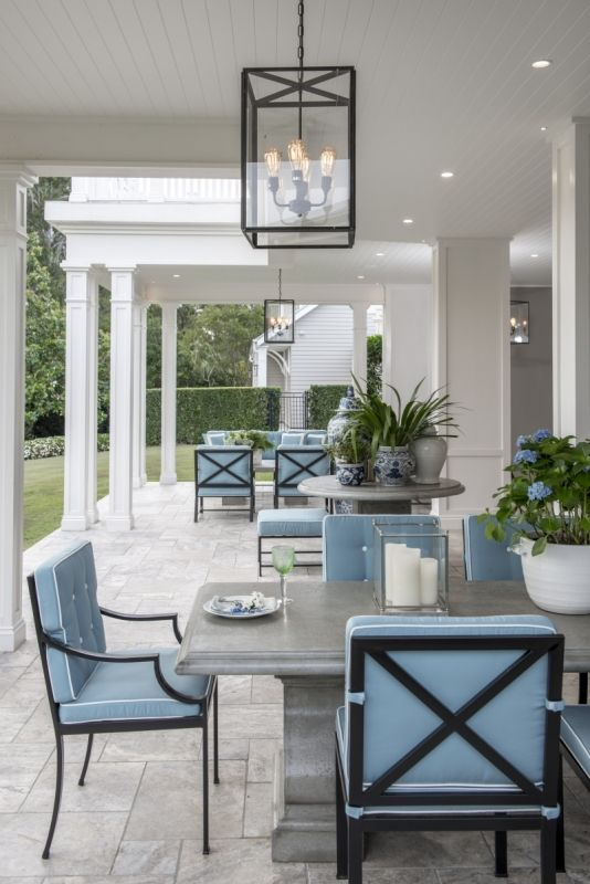 Verandah House Hamptons Revival