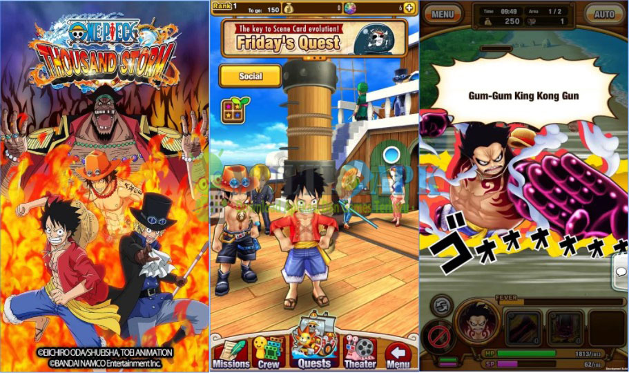 One Piece Thousand Storm Global Apk Mod 10.4.5 Direct Download