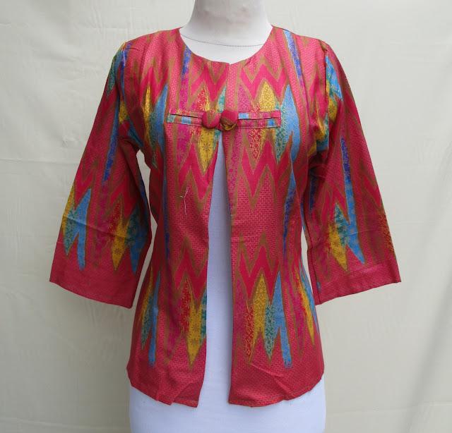 Model Bolero batik Rangrang Kancing Yogyakarta Grosir Ecer Murah