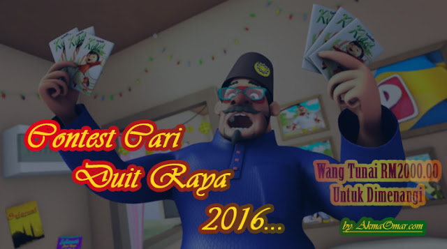 RM2K Contest Cari Duit Raya 2016