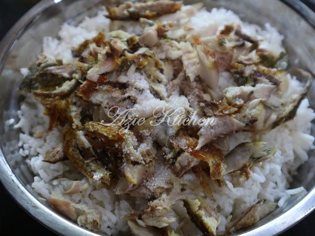 Nasi Goreng Ikan Goreng