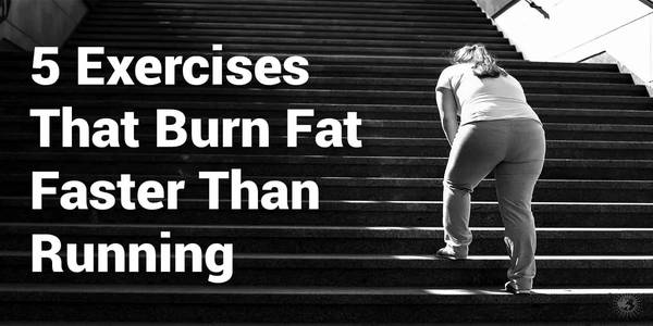 5 Exercises That Burn Fat Faster Than Running