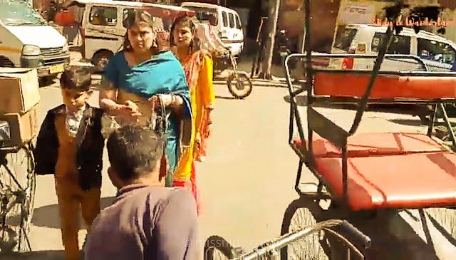 keliling chandni chowk naik rickshaw