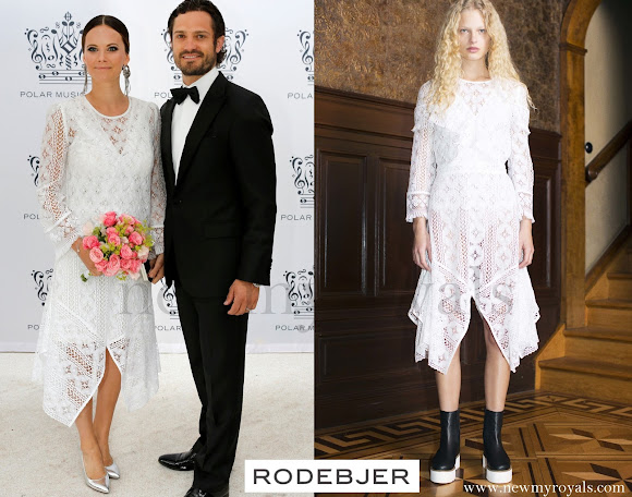 Princess Sofia wore Rodebjer Lace Dress - AW16