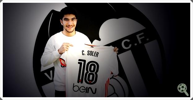 Carlos Soler 18 Valencia