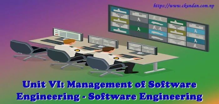 Unit VI: Management of Software Engineering - Software Engineering