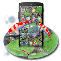 KOI Lucky Fish 3D Theme Apk free Download for Android