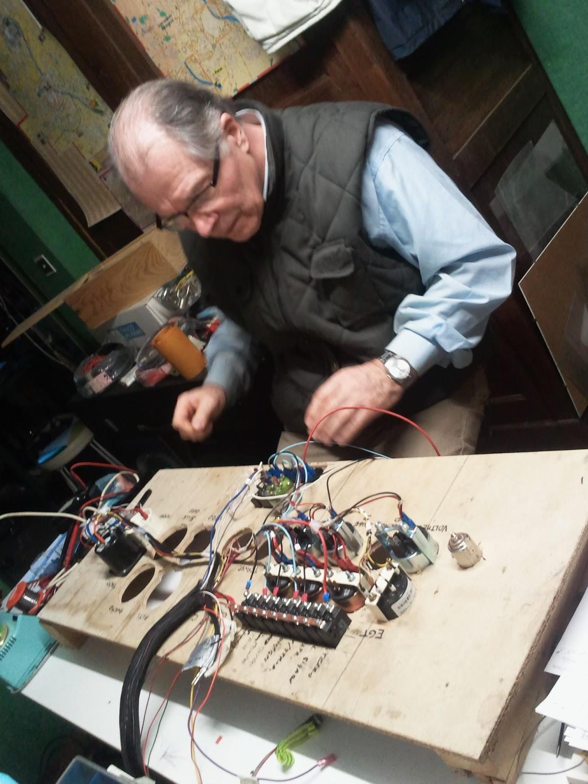 mon zenair ch 650 ei le c blage et le tableau de bord wiring instrument panel. Black Bedroom Furniture Sets. Home Design Ideas