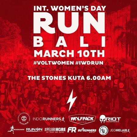 International Women's Day Run • 2018 Bali