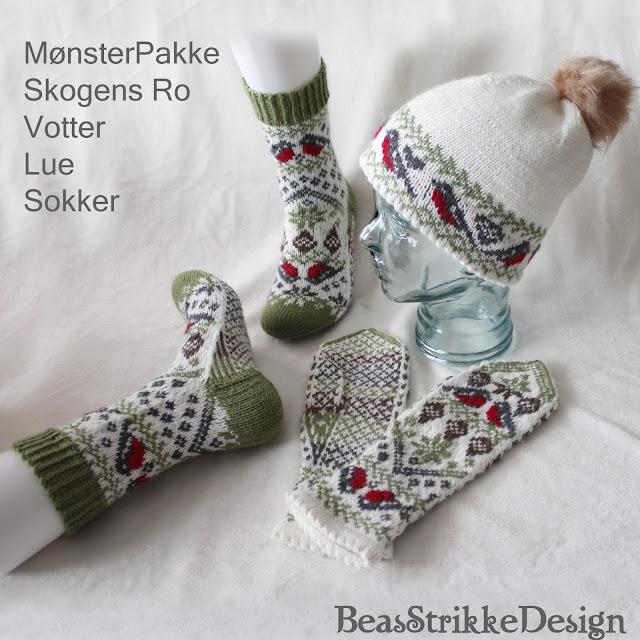 Mønsterpakke - Skogens Ro