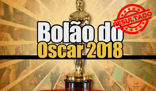 Resultado do Bolão do Oscar 2018