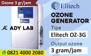 Harga Ozone Generator 3 Gram per Jam Murah merek Elitech