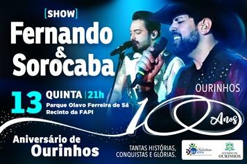 Show Fernando & Sorocaba