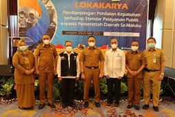 Hasan Slamat Gelar Pendampingan Kepatuhan Layanan Publik Tahun 2021 di Maluku