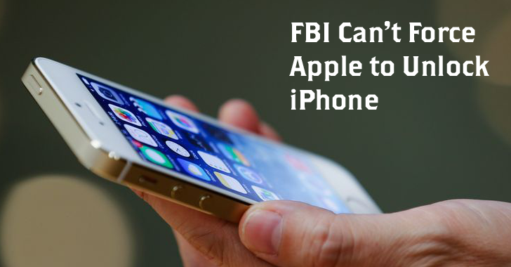 New York Judge Rules FBI Can't Force Apple to Unlock iPhone