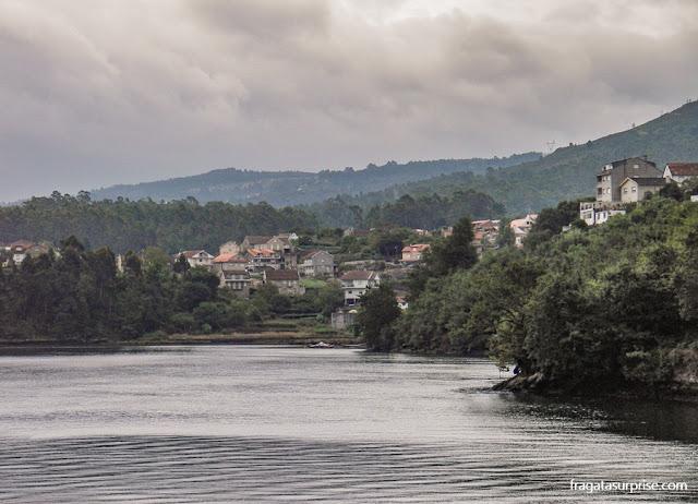 Cidade de Pontesampaio, na Ria de Pontevedra, Caminho de Santiago
