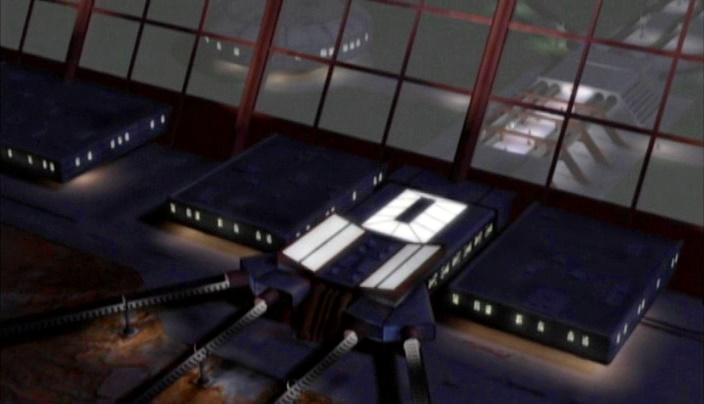 Mars in Babylon 5 - hyperloop station