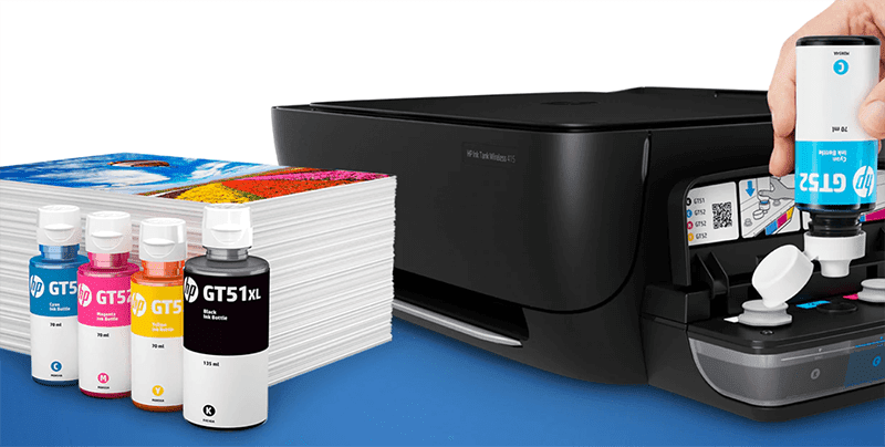HP printers such as the Ink Tank models are also included