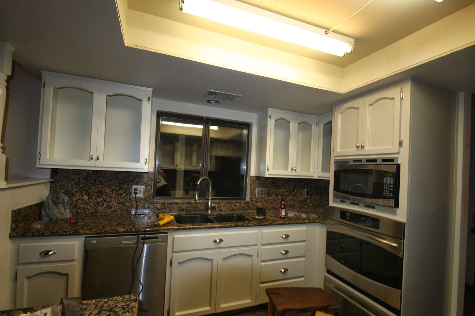 Tona Painting Job Pictures Update On 1980 S Kitchen Cabinets