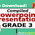Grade 3 - POWERPOINT PRESENTATION LESSONS (Updated)