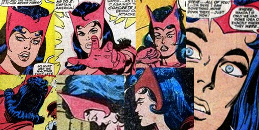 Scarlet Witch Hair John Buscema Don Heck
