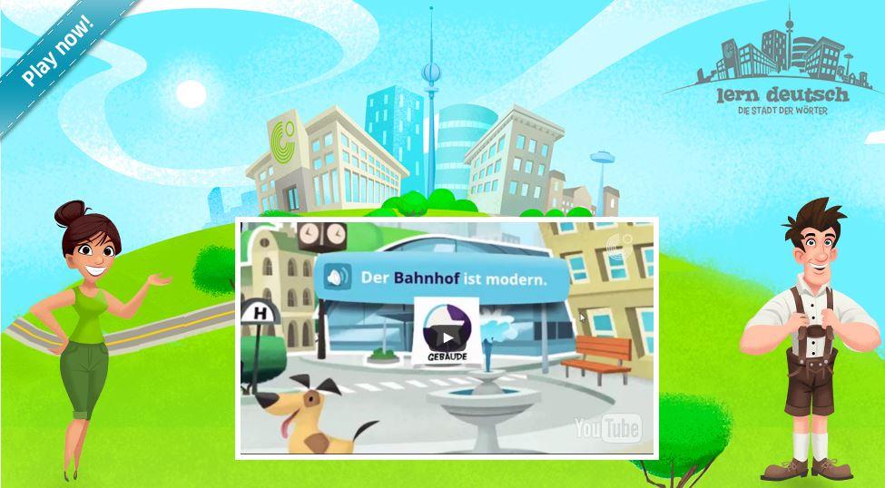 تطبيق مدينة الكلمات من معهد جوته للايفون والاندرويد