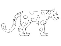 Jaguar coloring pages printable