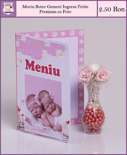 produse asortate botez gemeni fata-fata Ingerasi