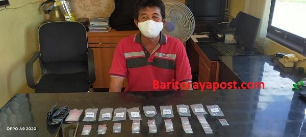 Seorang warga Desa Parebok dicokok Polsek Jaya Karya Beserta 11,42 Gram Narkotika jenis Sabu