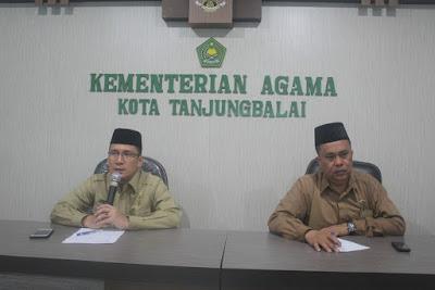 Kemenag Tanjungbalai Gelar Rapat Persiapan Deklarasi Anti Hoax