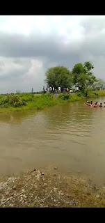 तालाब पर नहाने गए तीन युवक की डूबने से मौत