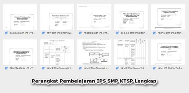 Perangkat Pembelajaran IPS SMP KTSP Lengkap