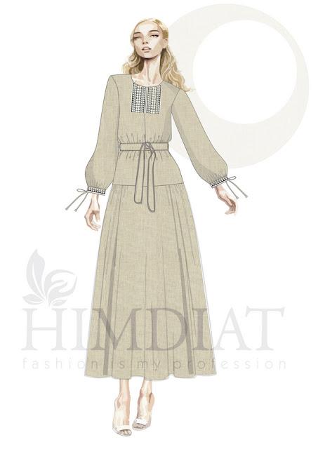 Платье женское. Модель PL-388