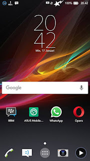 Themes EXPERIA For ASUS Zenfone