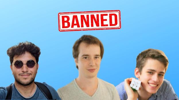 speeedcuber banned list yang disanski hukuman berat oleh WCA