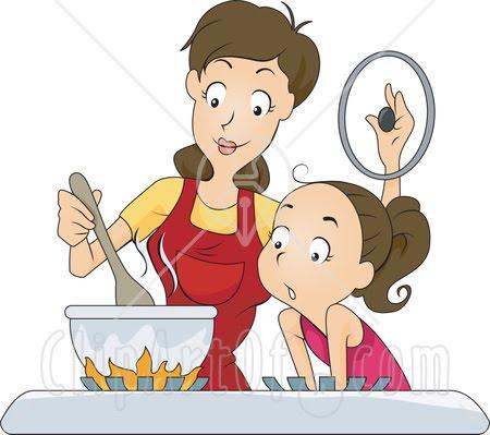 Gambar Kartun Memasak Di Dapur Desainrumahid Com