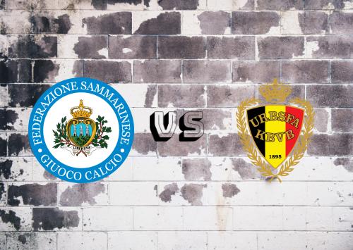 San Marino vs Bélgica  Resumen y Partido Completo