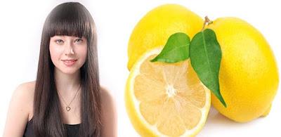 Rambut Bebas Ketombe Dengan Masker Lemon