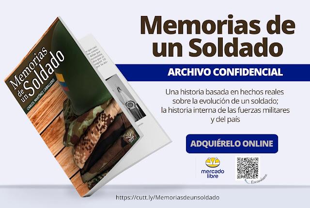 """Libro """"Memorias de un Soldado"""""""