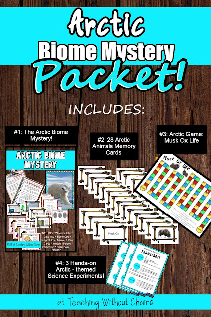 Arctic Biome Mystery Homeschool Activities