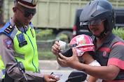 Hari Pertama Razian Polres Pelalawan Tilang 95 Kendaraan