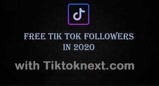 Tiktoknext com | Get Free Followers of tiktok From Tiktoknext.com