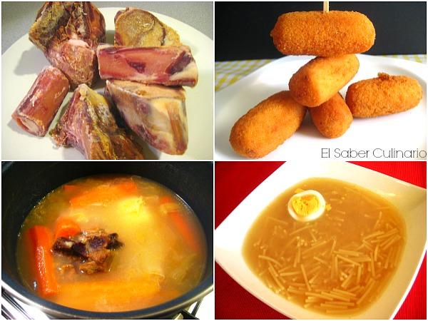 Cómo aprovechar los huesos del jamón para hacer caldo concentrado, croquetas caseras y caldo para sopa
