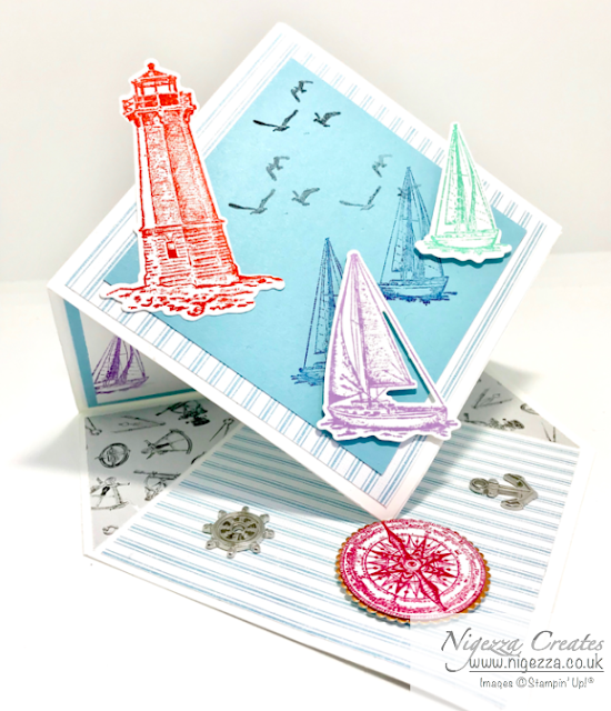 Nigezza Creates with friends from Stampin' Up! Sail Away