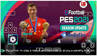 Download PES 2021 PPSSPP Best Grapics English Version New Face & Last Transfer