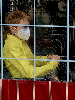 Mask causes bad breath (halitosis)