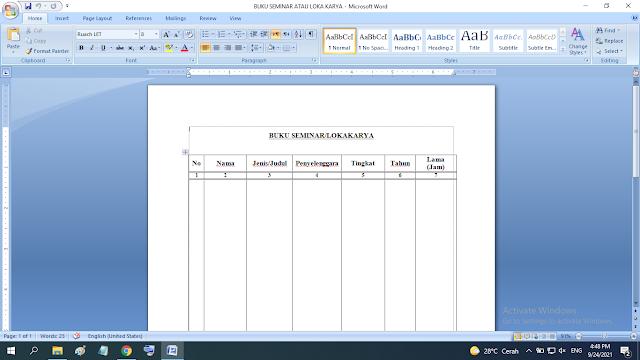 Buku Seminar Atau Lokakarya Kepala Sekolah doc