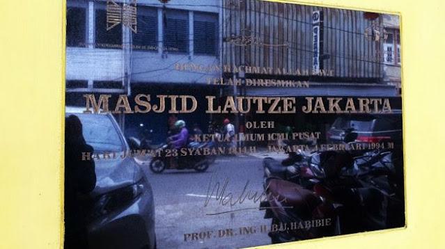 Mengenal Masjid Lautze, Saksi Bisu Ribuan Etnis Tionghoa Hijrah Jadi Mualaf